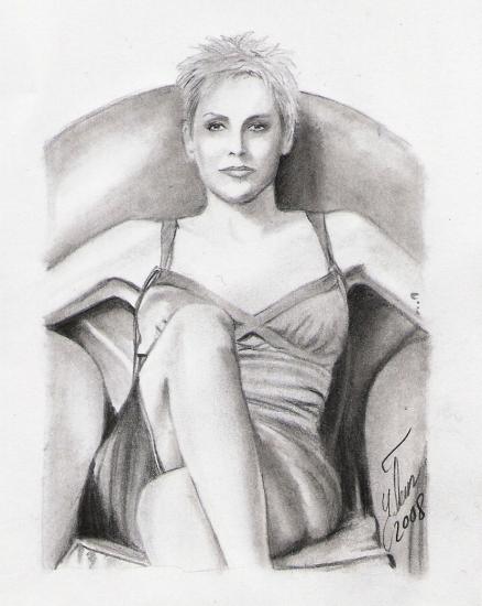 Sharon Stone by yenertan